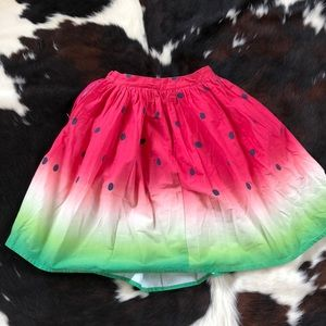 Unique vintage watermelon skirt 29 inch waist